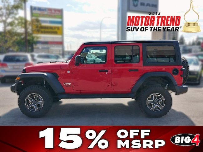 2018 Jeep All-New Wrangler Unlimited Sport SUV