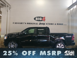 New 2019 Ram All-New 1500 Big Horn Truck Crew Cab Calgary, AB