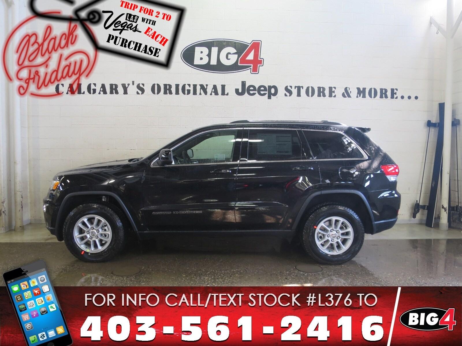 Used 2018 Jeep Grand Cherokee Laredo | V6 | Pwr Driver seat | 4x4 SUV Calgary, AB