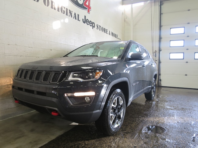 new 2018 jeep compass trailhawk for sale in calgary ab serving red deer airdrie chestermere. Black Bedroom Furniture Sets. Home Design Ideas