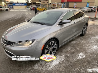 Used 2015 Chrysler 200 C Sedan Calgary, AB