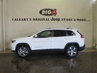 New 2019 Jeep New Cherokee Limited 4x4 SUV 1C4PJMDX1KD108018 Calgary, AB