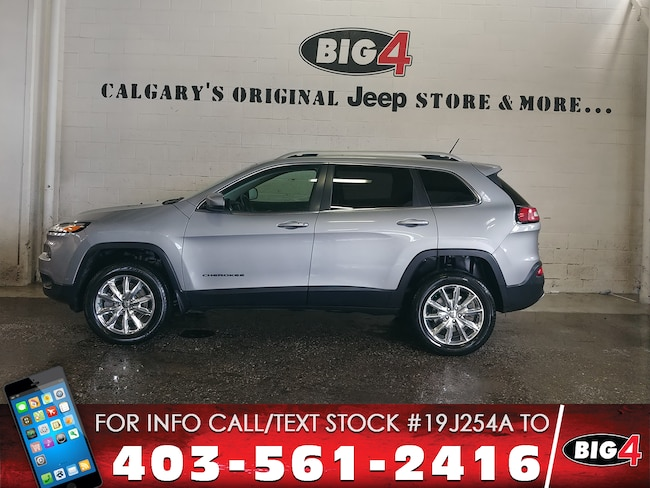 2014 Jeep Cherokee Limited | Leather | V6 | Techn. Grp SUV
