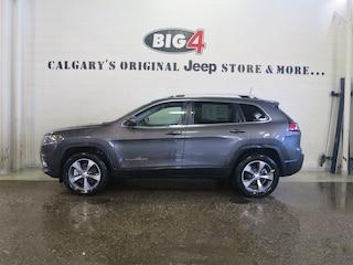 New 2019 Jeep New Cherokee Limited 4x4 SUV 1C4PJMDX1KD108021 Calgary, AB