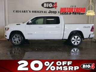 New 2019 Ram All-New 1500 Big Horn Camion cabine Crew 1C6SRFFT1KN884899 Calgary, AB