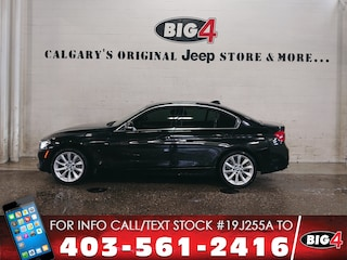 Used 2017 BMW 330i xDrive | Leather | Sunroof | NAV Sedan WBA8D9C33HA012048 Calgary, AB