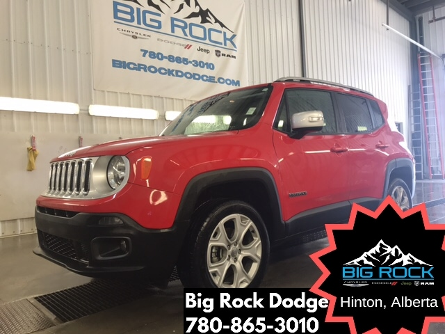2018 Jeep Renegade Limited|4x4|Bluetooth|Back-Up Camera|Leather Seats SUV