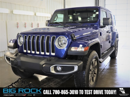 2020 Jeep Wrangler Unlimited Sahara SUV | One Owner | No Reported Accidents | Low Kilo