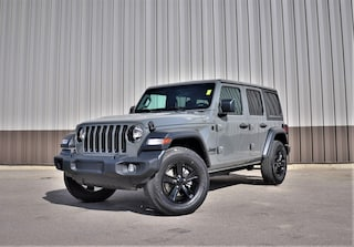 New 2020 Jeep Wrangler Unlimited Sport Altitude SUV for Sale in Hinton