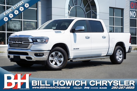 Featured New 2021 Ram 1500 Laramie 4x4 Crew Cab 144.5 in. WB for sale in Campbell River, BC