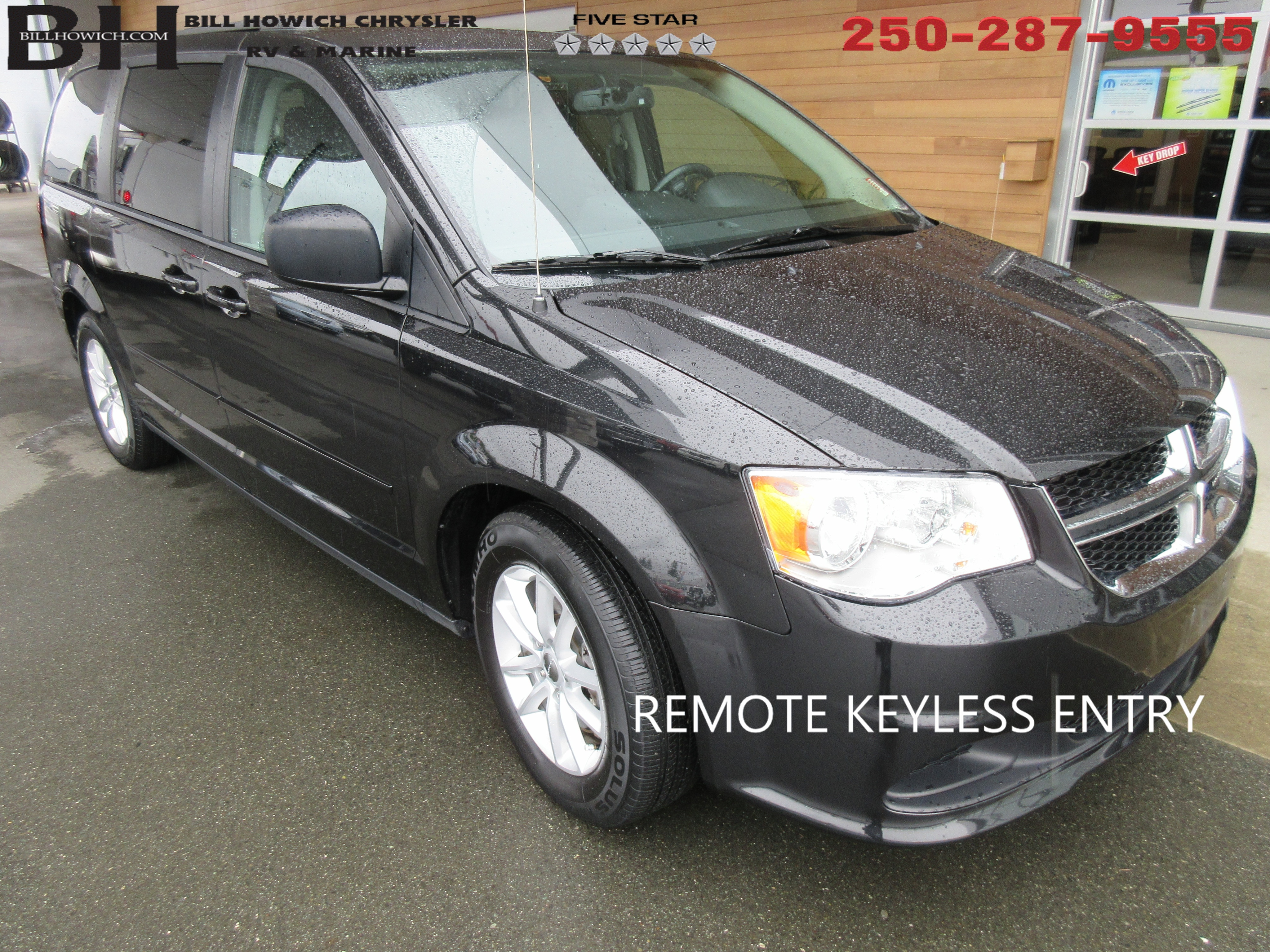 Featured Used 2016 Dodge Grand Caravan SXT Van for sale in Campbell River, BC