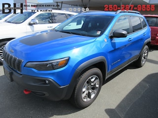 Used 2019 Jeep Cherokee Trailhawk SUV for sale in Campbell River, BC