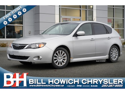Featured Used 2008 Subaru Impreza 2.5 i Hatchback for sale in Campbell River, BC