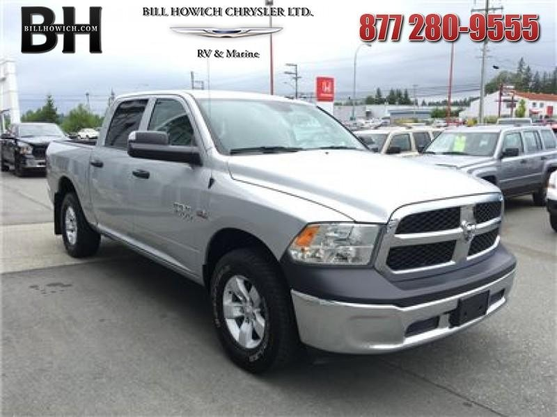 Featured Used 2016 Ram 1500 ST Truck Crew Cab for sale in Campbell River, BC