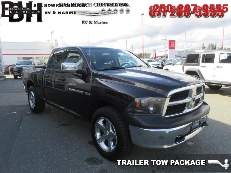 Featured Used 2011 Dodge Ram 1500 ST Truck Quad Cab for sale in Campbell River, BC