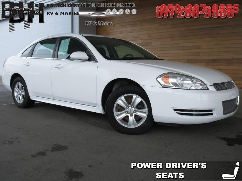 Featured Used 2013 Chevrolet Impala LS Sedan for sale in Campbell River, BC