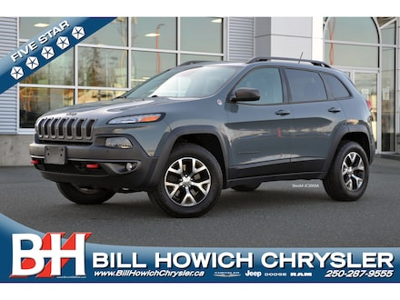Featured Used 2014 Jeep Cherokee Trailhawk SUV for sale in Campbell River, BC