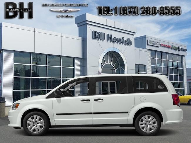 2018 Dodge Grand Caravan Canada Value Package - $141.21 B/W Van