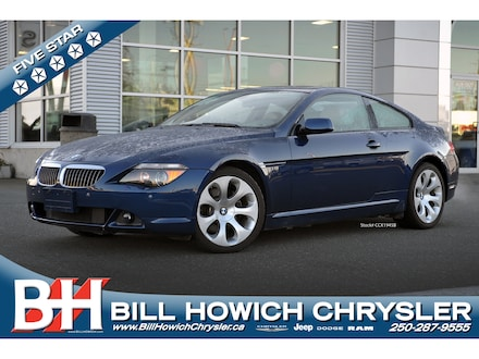 Featured 2005 BMW 645 Ci Coupé for sale in Campbell River, BC