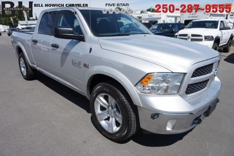 Featured Used 2015 Ram 1500 Outdoorsman Truck Crew Cab for sale in Campbell River, BC