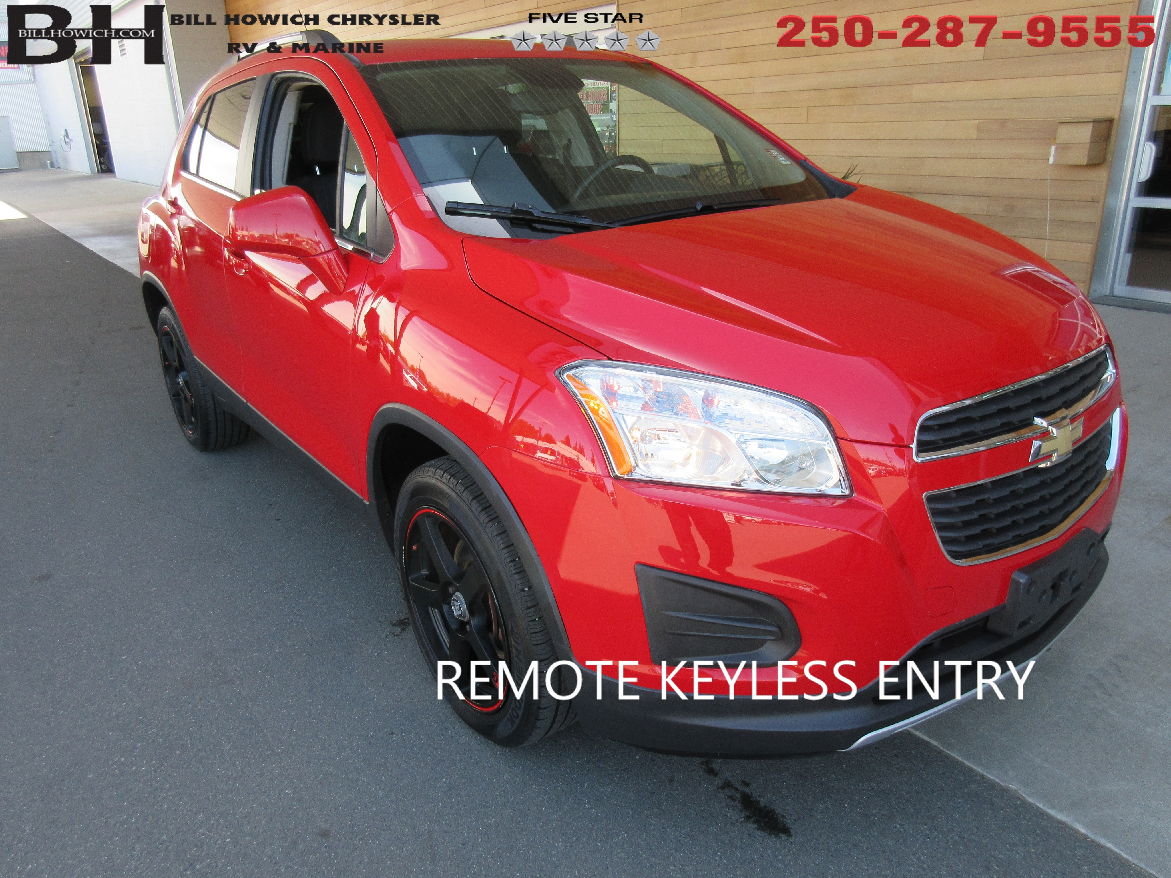 Used 2015 Chevrolet Trax 1lt For Sale Campbell River Bc