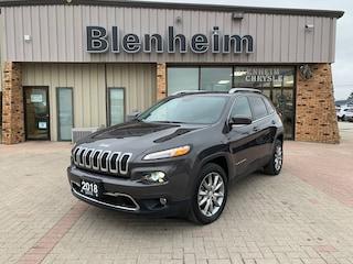 2018 Jeep Cherokee Limited VUS