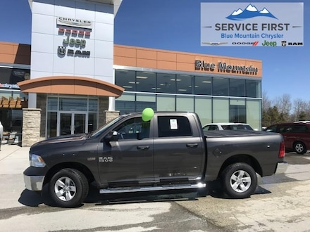 2018 Ram 1500 ST - Dealer Demo Truck Crew Cab