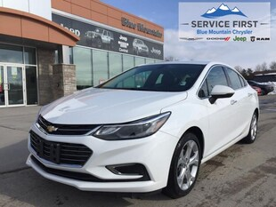 2018 Chevrolet Cruze Premier - Leather Interior! Sedan