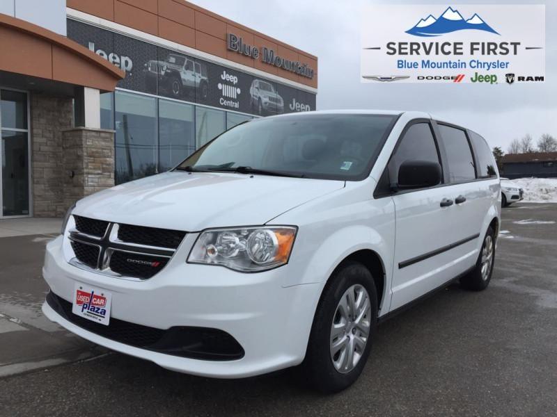 2017 Dodge Grand Caravan Canada Value Package Van Passenger Van