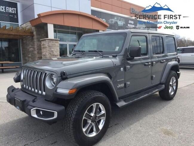 2019 Jeep Wrangler Unlimited Sahara - Leather Seats SUV