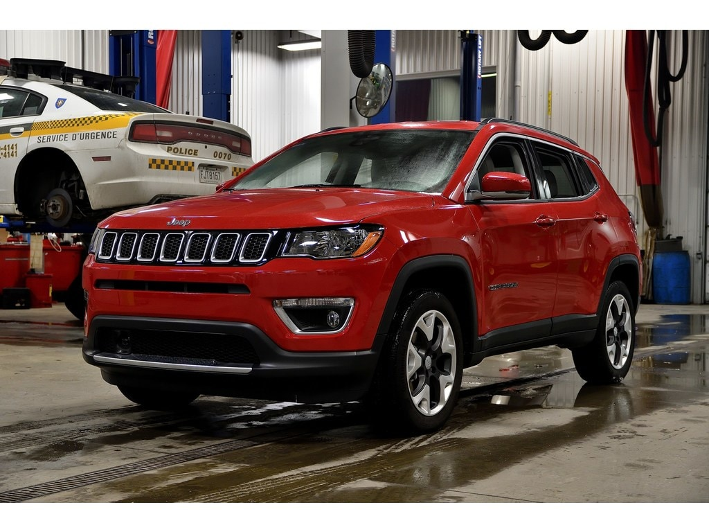 2019 Jeep Compass Limited * Cuir Blanc * Angles Morts * GPS * VUS