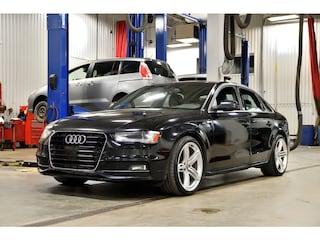 2015 Audi A4 Progressiv Plus Quattro * S-Line * Toit * Cuir * Berline