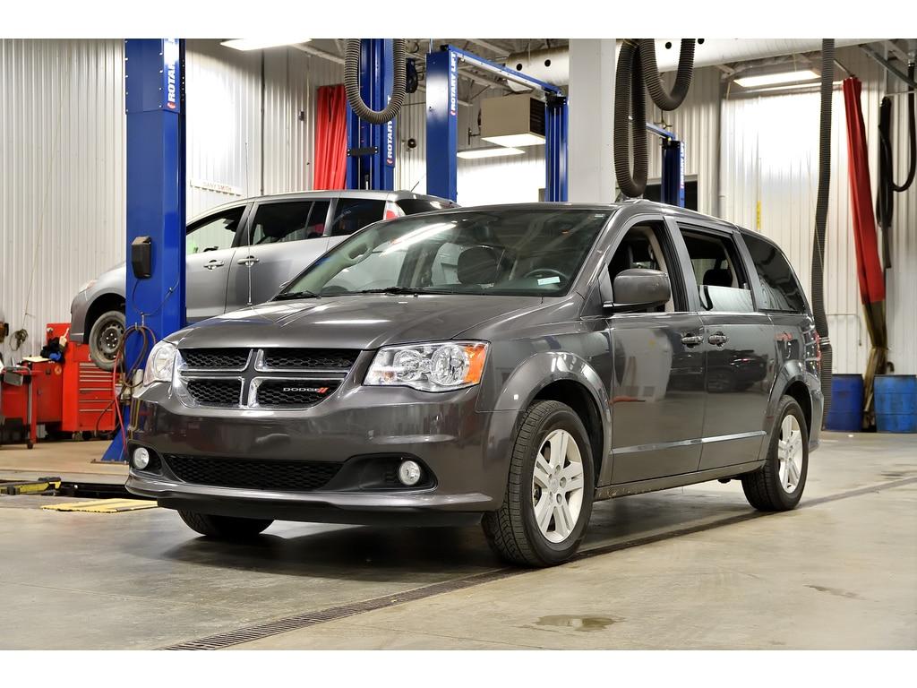 2019 Dodge Grand Caravan Crew Plus * DVD * Cuir * GPS * Camera * Bluetooth*