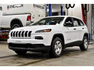 2017 Jeep Cherokee Sport * V6 3.2L * 4X4 * Bluetooth * VUS
