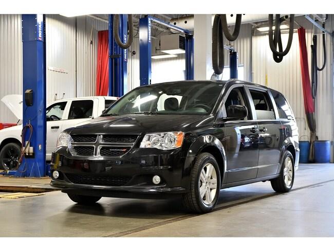 2018 Dodge Grand Caravan * Crew Plus * Cuir * GPS * Portes Electriques * sur Rive-Sud de Montréal