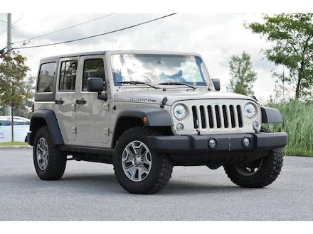 2018 Jeep Wrangler JK Unlimited Rubicon * 4.10 * GPS * 2 Toits * LED * Temps Froid VUS