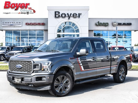 2018 Ford F-150 Lariat 4x4 Crew Cab 6.3 ft. box 149 in. WB