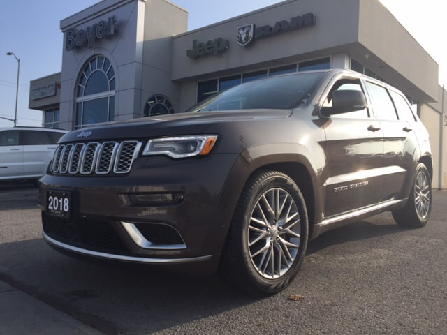 2018 Jeep Grand Cherokee Summit SUV