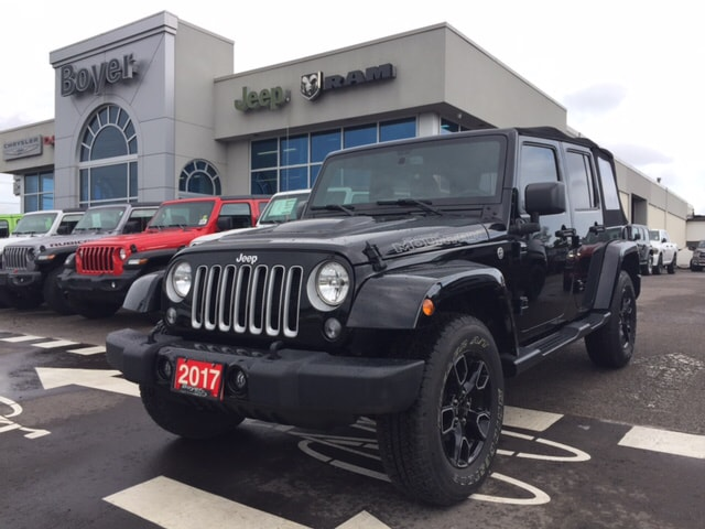 2017 Jeep Wrangler JK Unlimited Sahara VUS