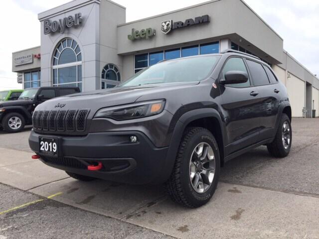 2019 Jeep New Cherokee Trailhawk Elite   Demo VUS
