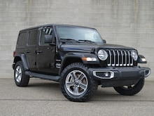 2018 Jeep Wrangler Unlimited Sahara Automatic Hard Top Bluetooth SUV