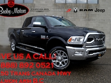 2018 Ram 3500 Limited Crew Cab Shortbox Aisin Cummins Diesel Truck