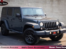 2017 Jeep Wrangler JK Unlimited Willys Wheeler Automatic  SUV