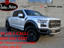 2018 Ford F-150 Raptor 802A Sunroof Tech Package Truck