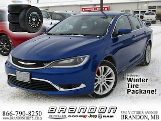 2016 Chrysler 200 Limited ~ Leather Seats, Rear View Camera! Sedan
