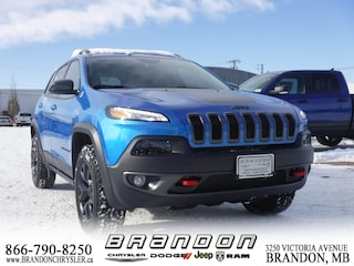 2018 Jeep Cherokee Trailhawk ~ Leather Seats, Uconnect, Rear Camera SUV