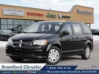 2019 Dodge Grand Caravan Canada Value Package - $187.84 B/W Van