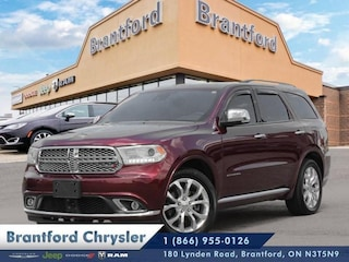 2016 Dodge Durango Citadel - Sunroof -  Leather Seats - $225 B/W SUV