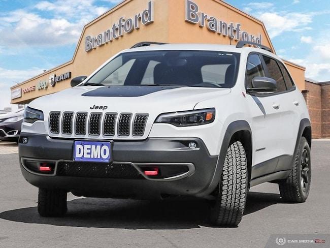 2019 Jeep Cherokee Trailhawk - Navigation -  Uconnect - $252.13 B/W SUV