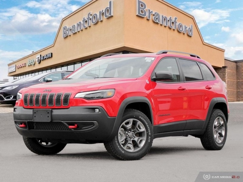 2019 Jeep Cherokee Trailhawk - Navigation -  Uconnect - $248.18 B/W SUV